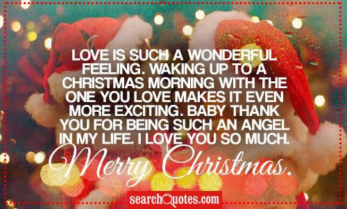 Merry Christmas Quotes for Boyfriend