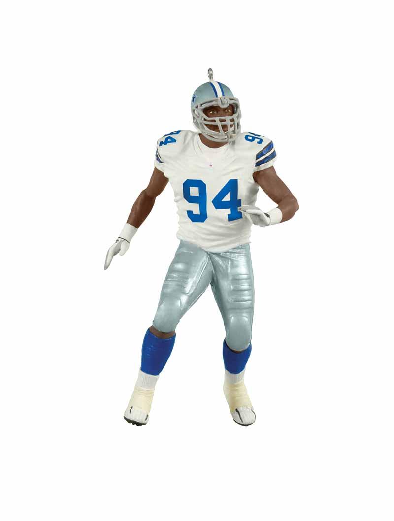 DEMARCUS WARE ORNAMENT NFL DALLAS COWBOYS 2011 HALLMARK LINEBACKER FOOTBALL  RARE.    e69bcc6c8008