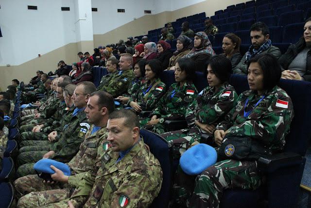 Empat Prajurit Wan TNI Indobatt hadiri Hari Tentara Wanita UN