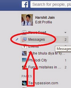 Send data using fb
