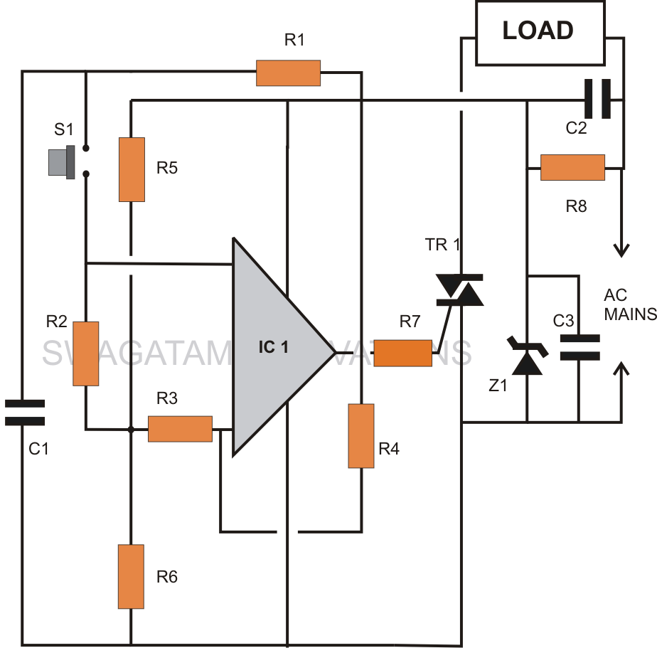 How To Make An Electronic Toggle Switch Circuit
