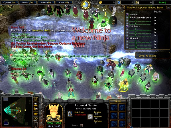 Dota Workshop Tools Naruto Ninpou Storm MN 44b Map Download