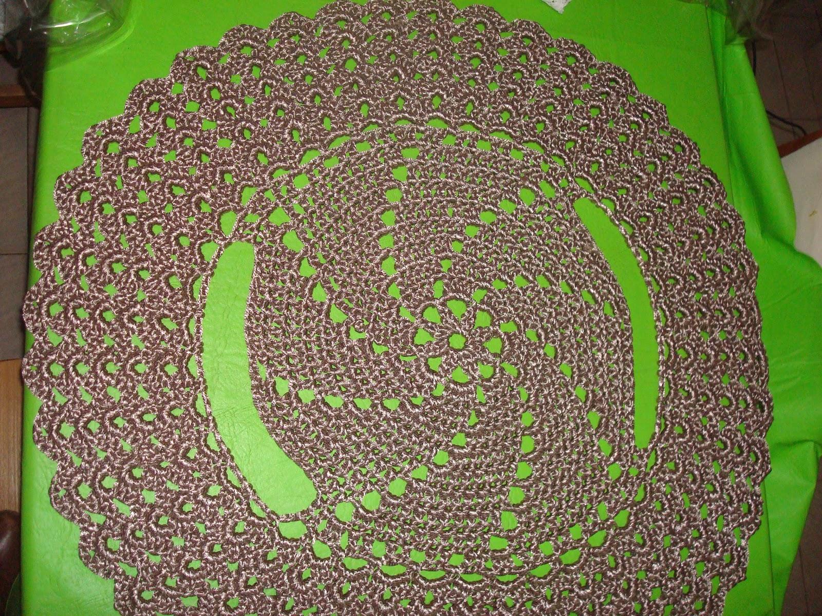 Chaleco Redondo Tejido a Crochet