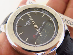 TISSOT T TOUCH CLASSIC 42mm - The Touch Screen Watch