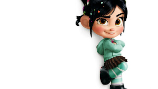 Vanellope Von Schweetz Wreck It Ralph HD Wallpaper