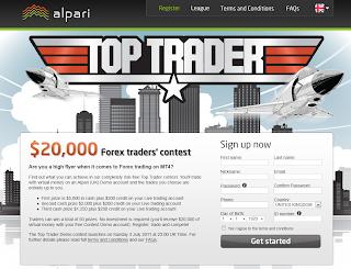 Alpari Trading Contest