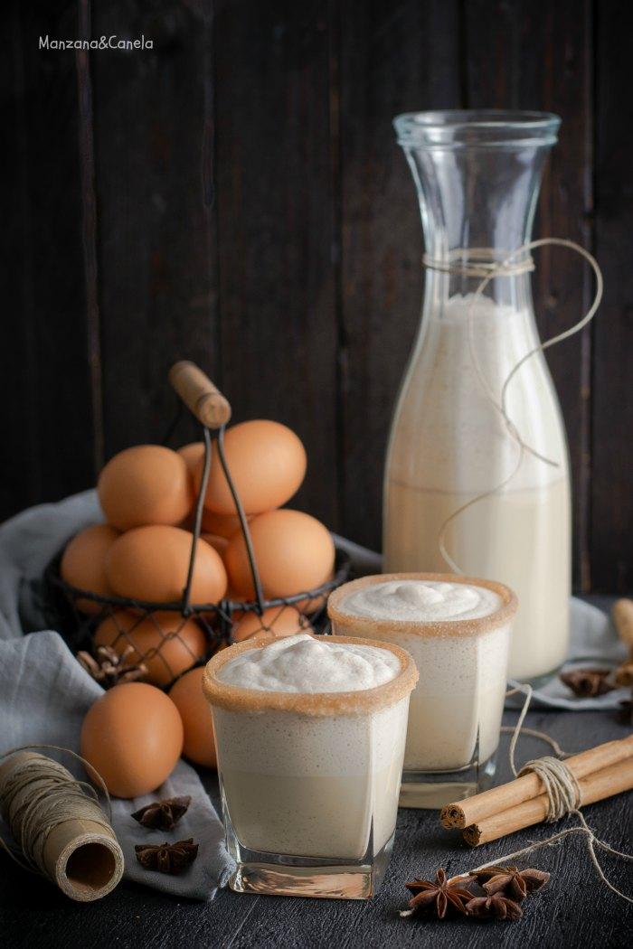 Eggnog: ponche de huevo navideño. Receta de Navidad