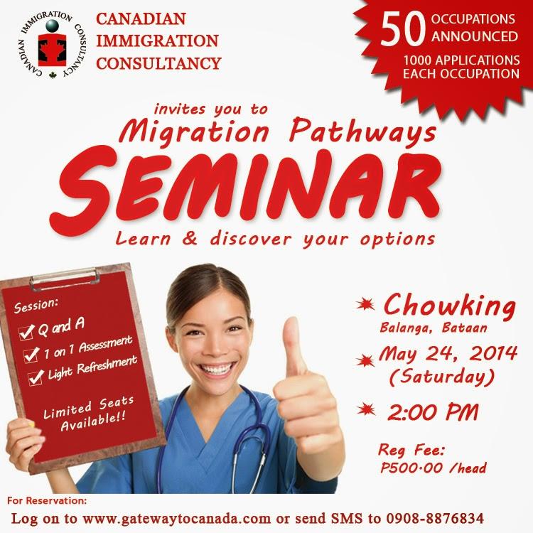 Balanga Bataan Canada Seminar