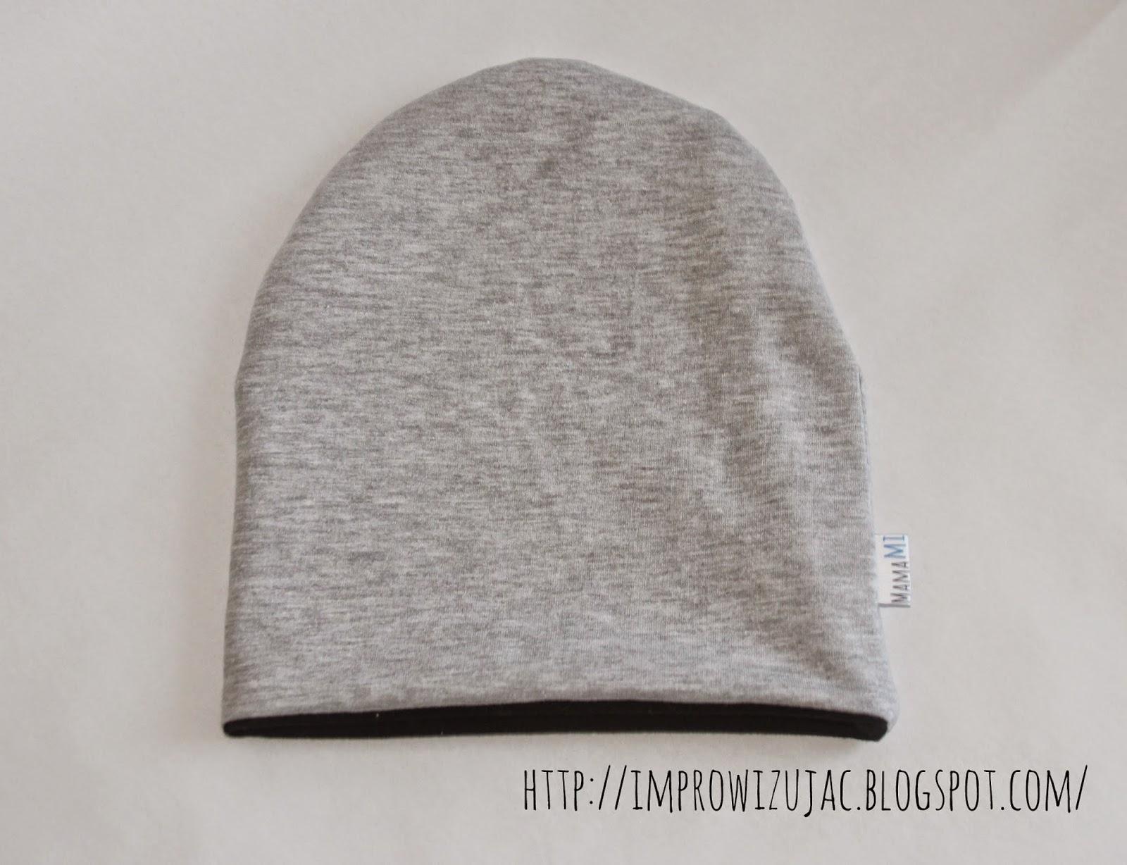 czapka z dresu
