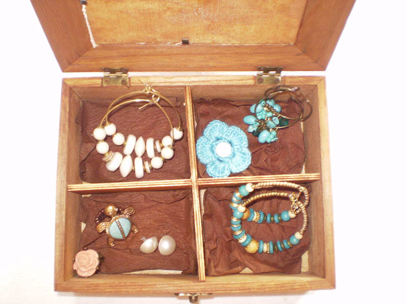 Cosas bonitas que se pueden hacer caja de madera y punto - Cosas de madera para hacer ...