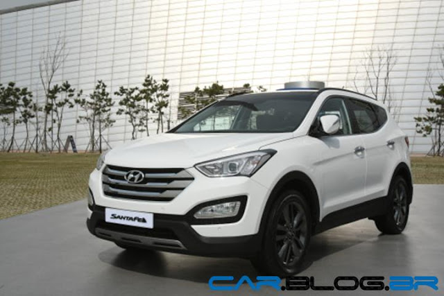 Hyundai Santa Fé 2013 branco