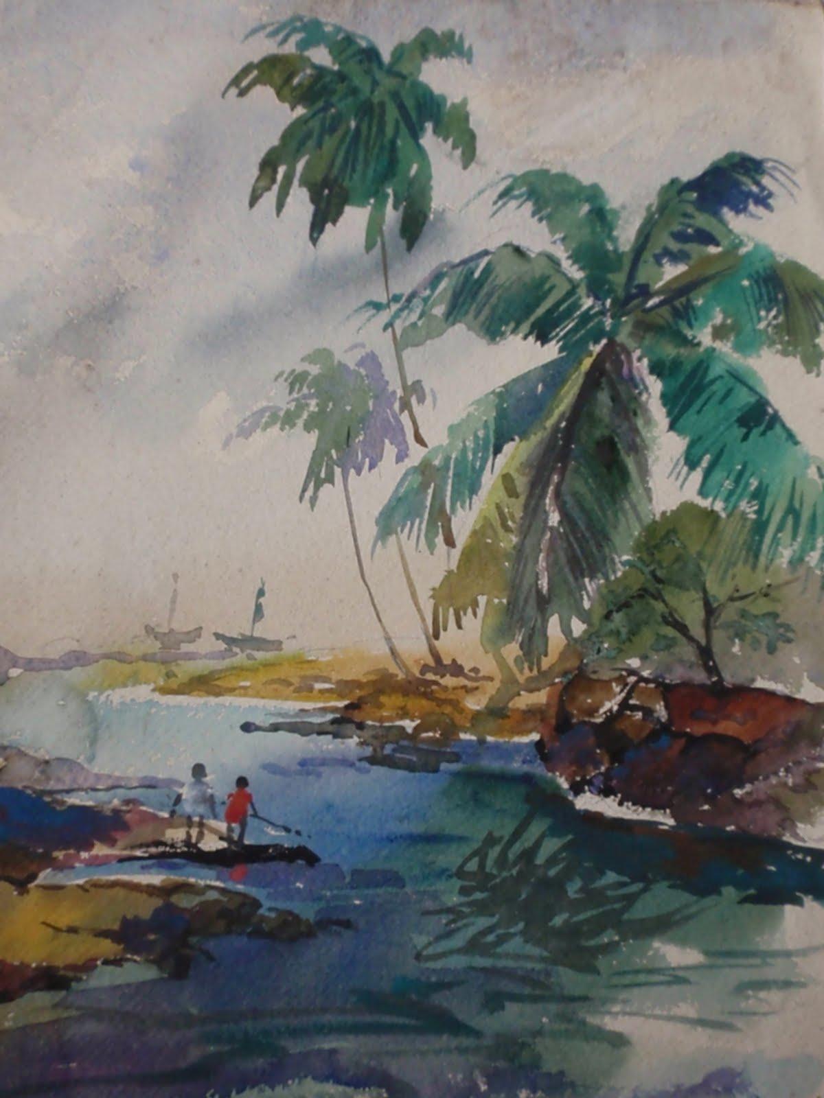 Original watercolor art for sale - Recent Offline Sale Of Original Watercolor Nature Paintings Framed Custom