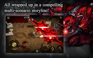 Screenshots of the Demonic Savior for Android tablet, phone.