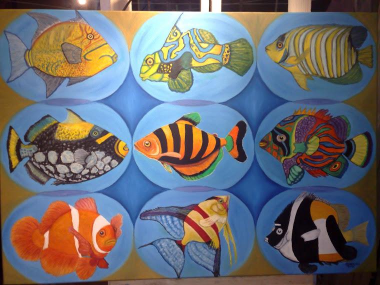 Arte Peixes: Esta já foi vendida