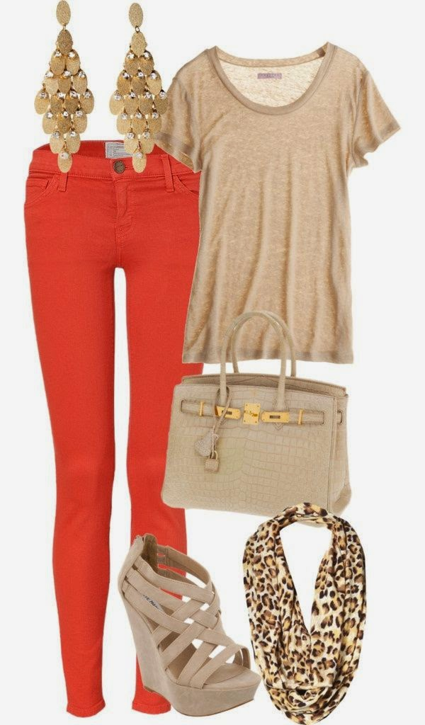 Pretty outfit with typical fall colors. Though I'd say this outfit works for both fall and spring, it's such chill chic outfit that could be both dressed up and dressed down.