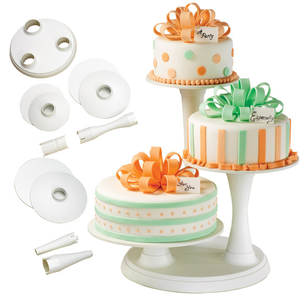 Многоуровневая подставка для торта своими руками