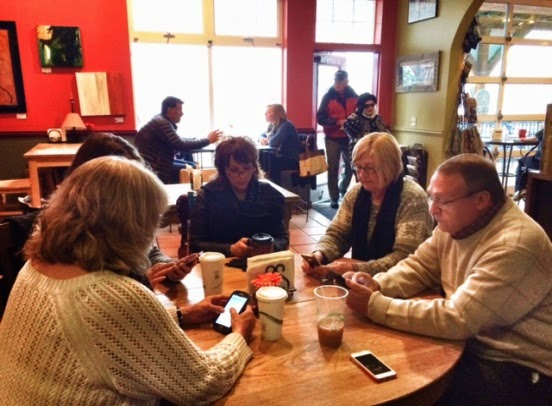 Photo of COVOAD members met in Lyons this week at the Lyons Chamber of Commerce