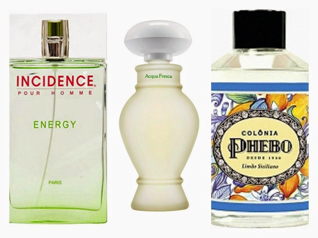 Perfumes Cítricos Amadeirados