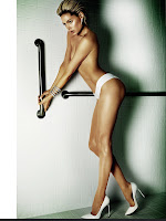 Doutzen Kroes shows off her hot body in a photoshoot for Vogue Brazil June 2013 Issue