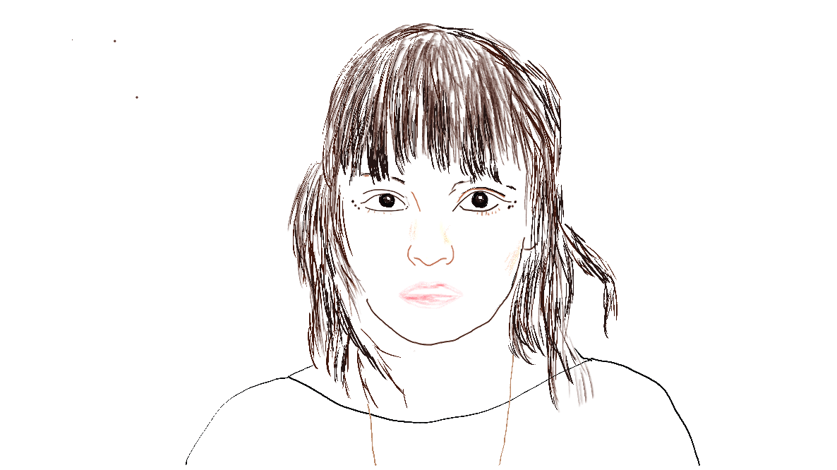 Lauren Mayberry, digital painting by p. killert
