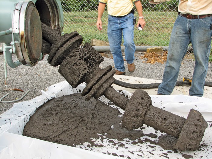 Is Debris In Natural Gas Line During Repair