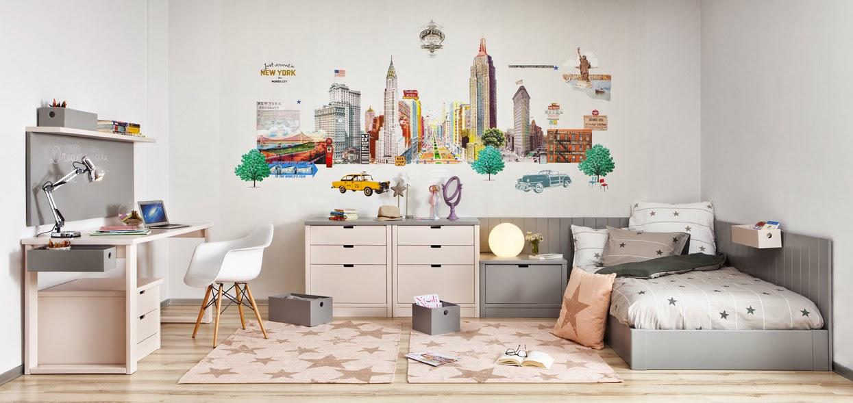 Dormitorios juveniles rom nticos - El mueble habitaciones infantiles ...