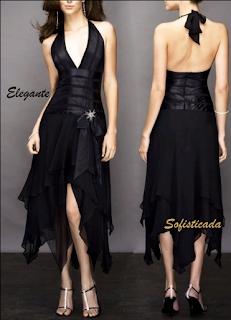 Vestidos de noche Negro 2012