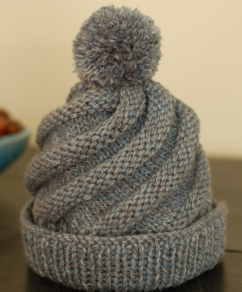 We Like Knitting: Swirled Ski Cap - Free Pattern