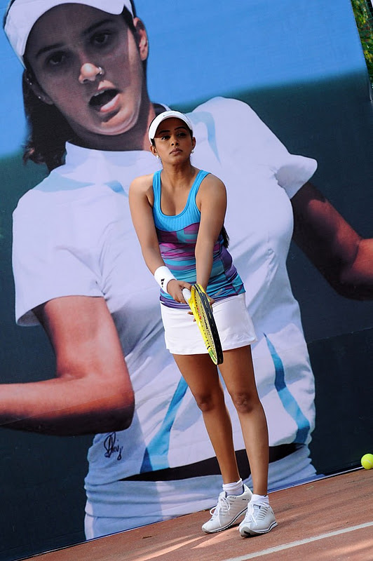 1 - Priyamani in Tennis Outfit