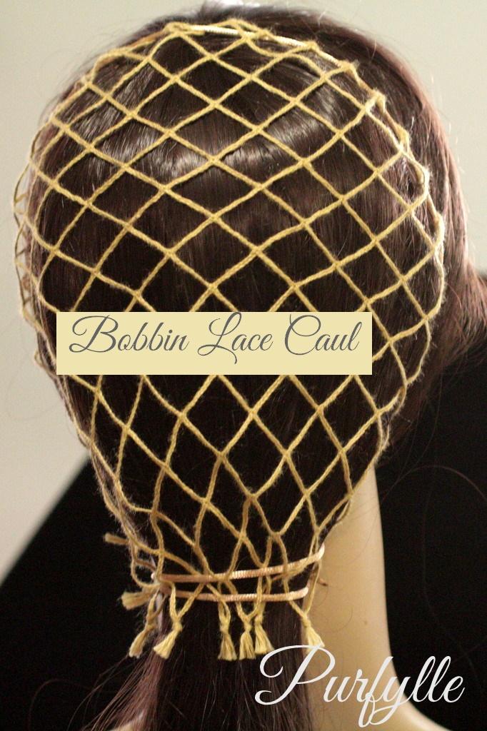 Bobbin Lace Caul
