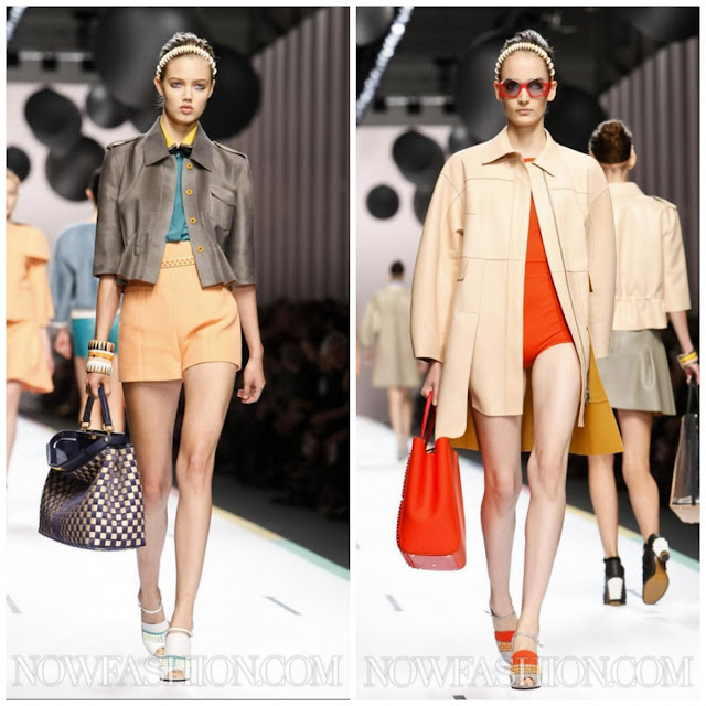 {Colour my world} Fendi Milan SS 2013 RTW