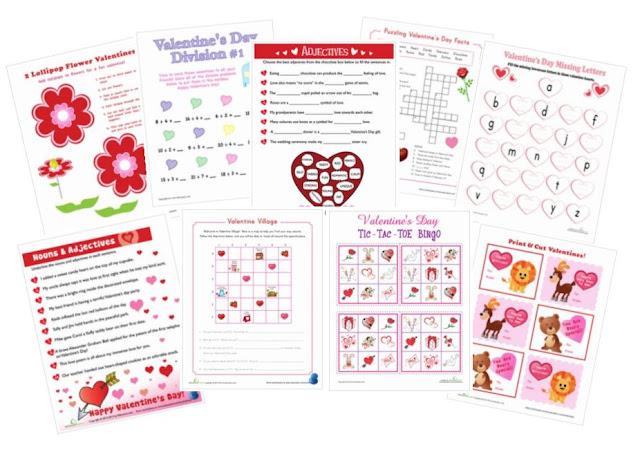 Homeschool Chicks Valentines Ideas Galore
