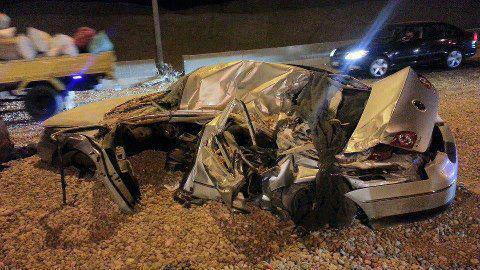 حادث سيارة يوسف الحسيني يوسف