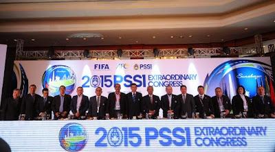 Inilah Daftar Susunan Pengurus Baru PSSI 2015