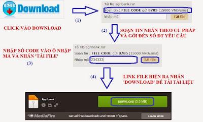 Huong dan download tai lieu on thi cong chuc