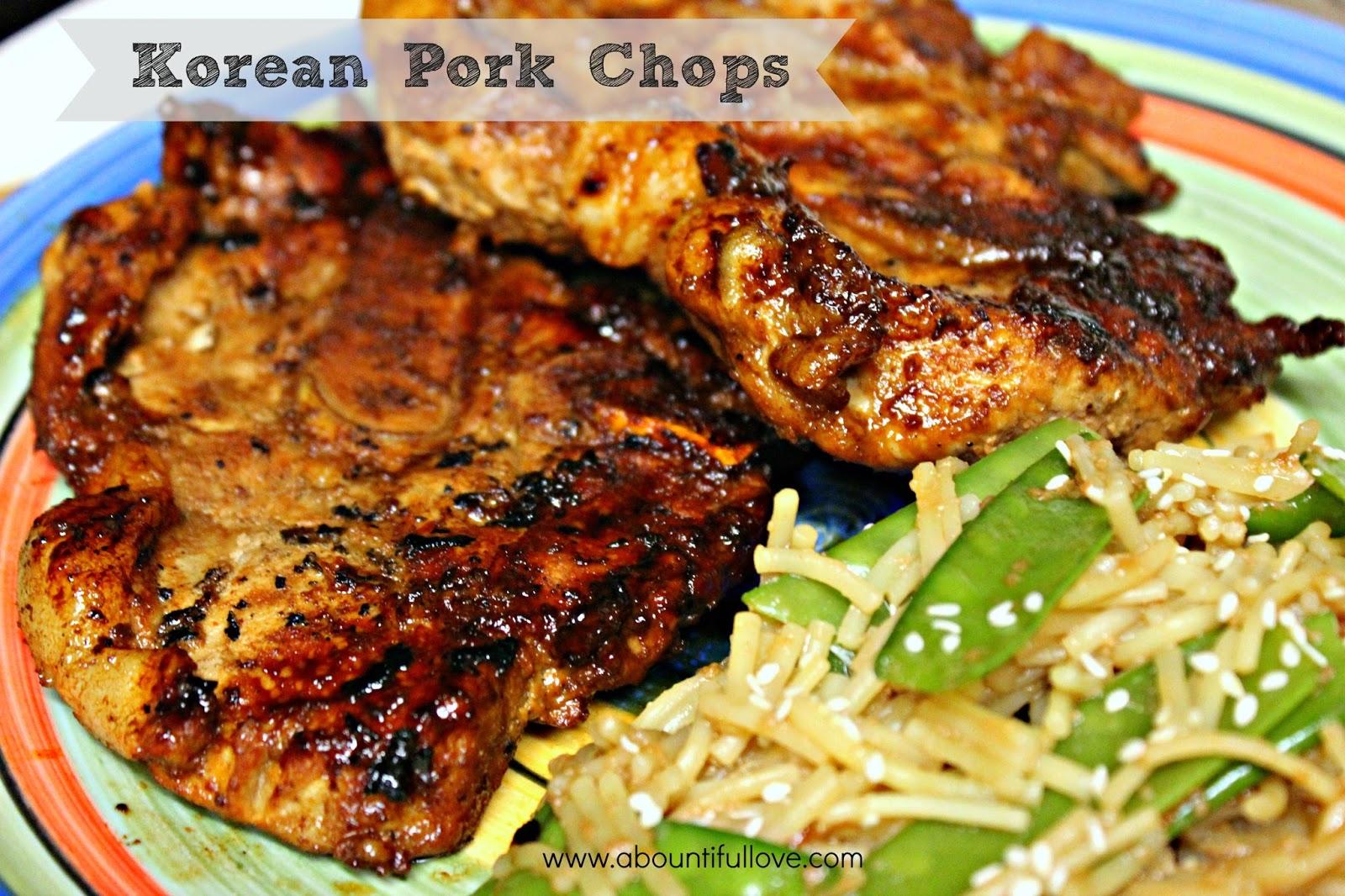 Ingredients: 6 Bone In Pork Chops