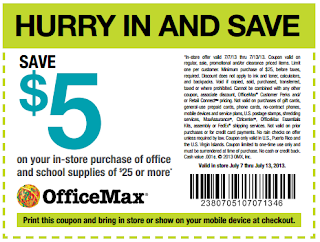 office max 5 off 25 printable couponpng
