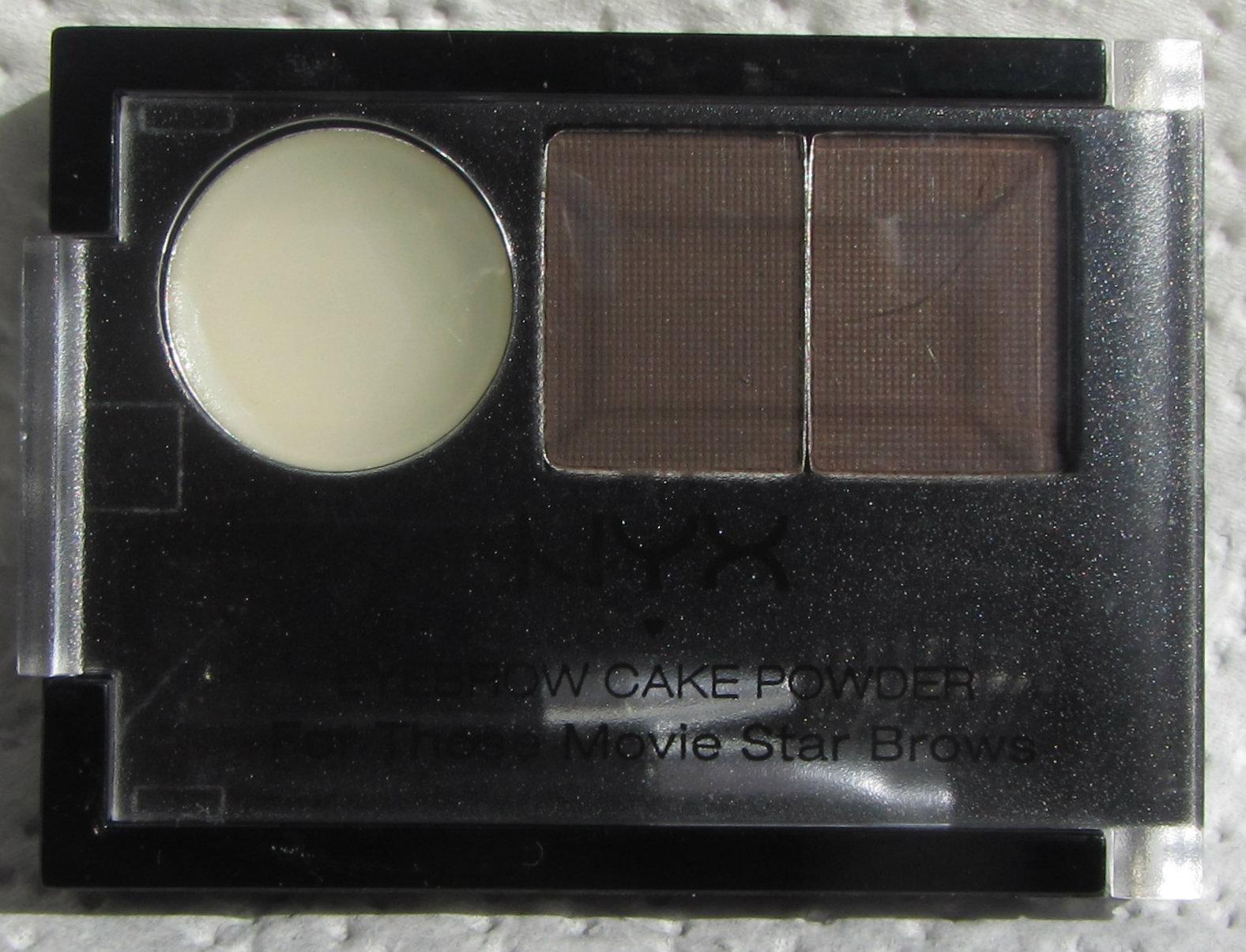Ninas Bargain Beauty Nyx Eyebrow Cake Powder Review Updated