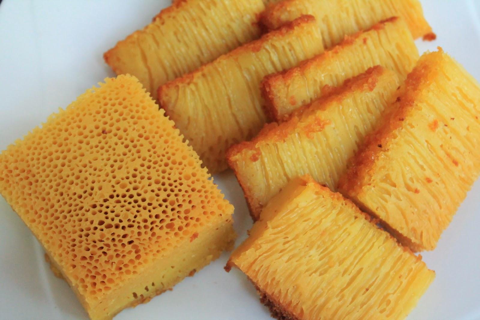 Recipe For Indonesian Honeycomb Cake Bika Ambon