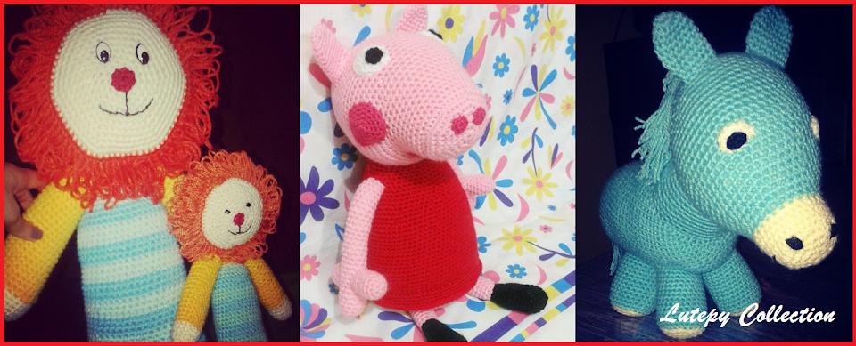 Patron Amigurumi Peppa Pig Grande : LuTepy Collecttion: PATRoN GRATIS PEPPA PIG AMIGURUMI - LA ...