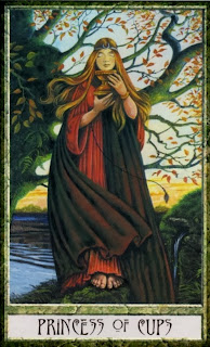 princess of cups, Druidcraft Tarot