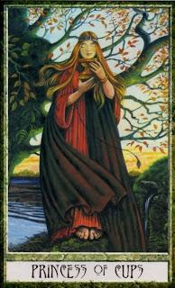 princess of cups, Druidcraft Tarot