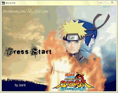 Naruto Shippuden Ninja Generations MUGEN PC Games