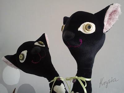 maskotki personalizowane kotki