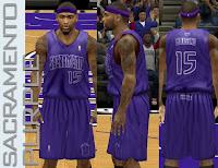 NBA 2K13 Sacramento Kings Fictional X-mas Jersey