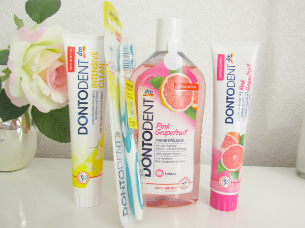 Dontodent Zahnpflege Pink Grapefruit & Intensive Clean