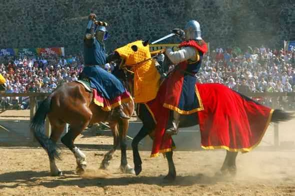 Knights tournaments in Lida Castle