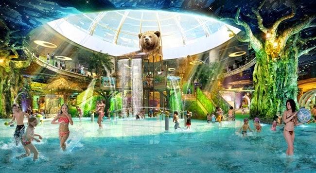 Công viên nước trong nhà lớn nhất Đông Nam Á Vinpearl Water Park - Chung cư Royal City