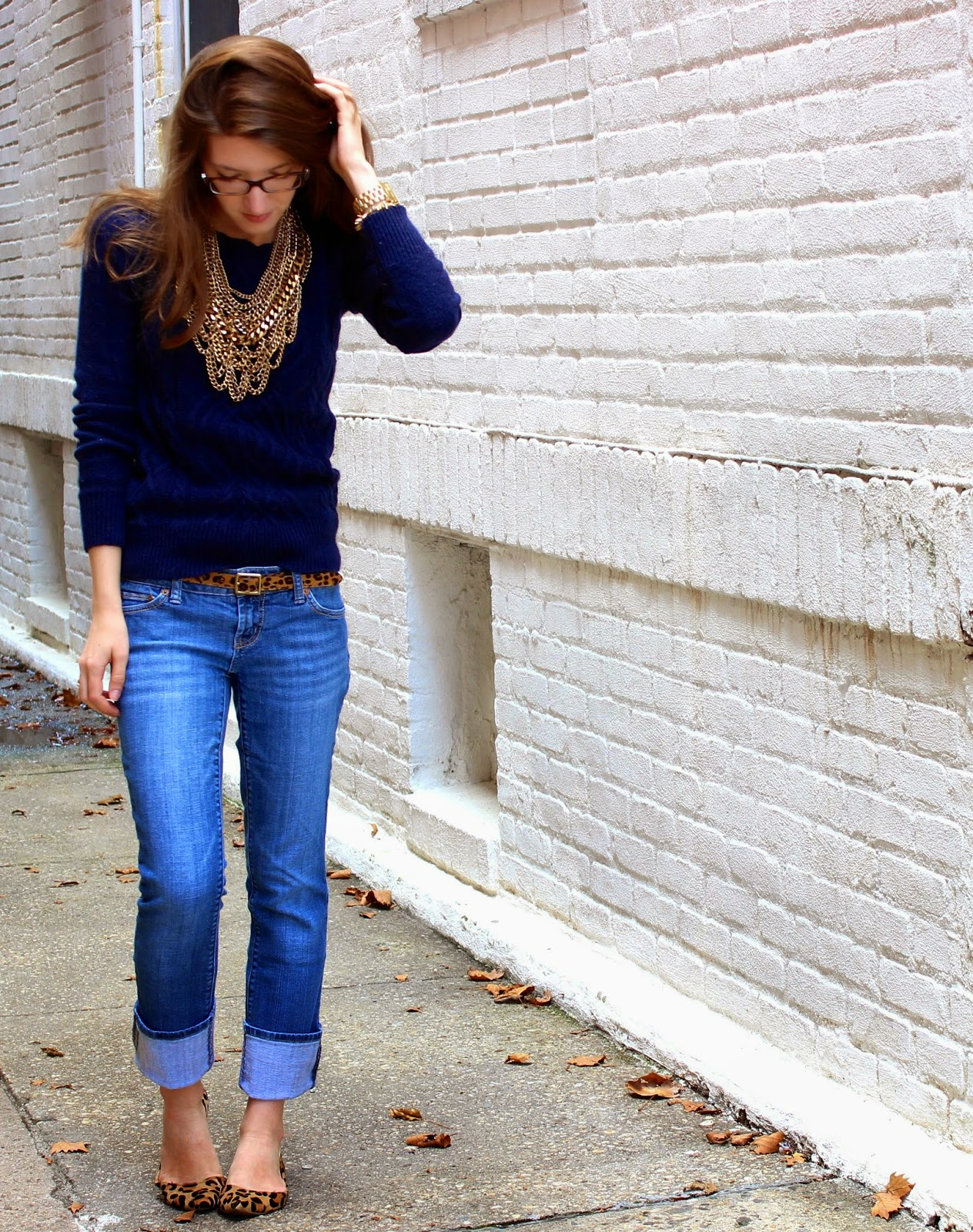 Fall Preview Friday || Leopard + Chunky Knits