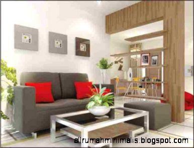 Gambar Interior Rumah Minimalis Sederhana Kamar Tamu   Denah Rumah